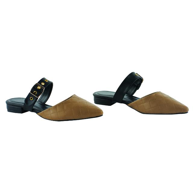 Sepatu Sandal Wanita Cokelat   CASTON