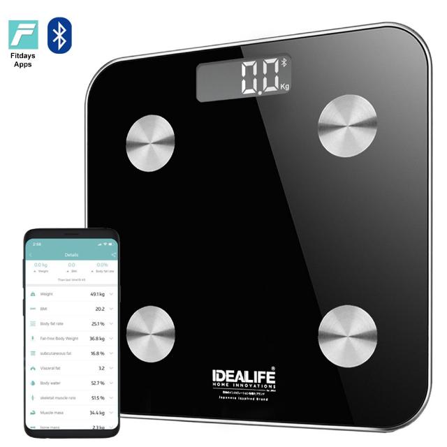 Digital Bathroom Smart Scale (IL-273) / Timbangan Badan Pintar | IDEALIFE1