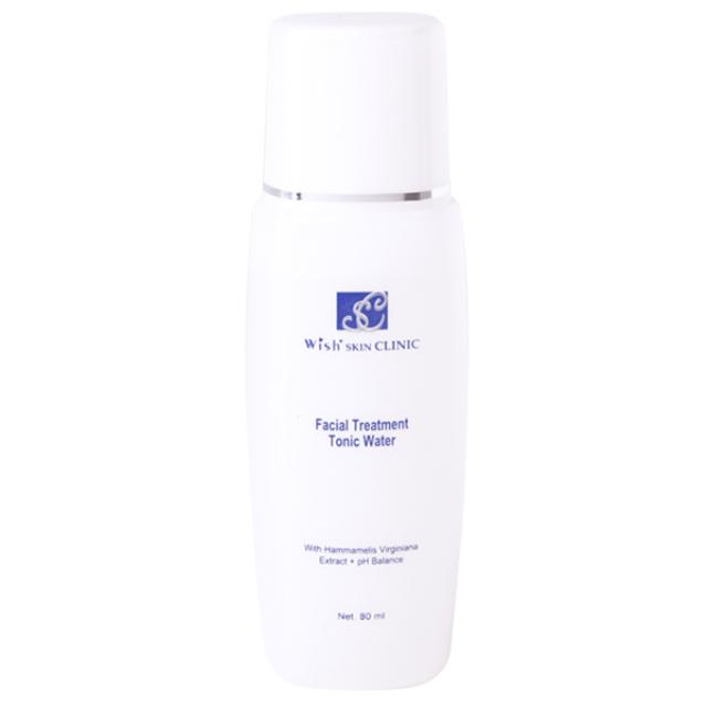 Facial Treatment Tonic Water / Toner Wajah   WISH