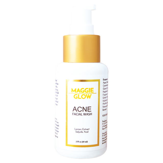 Maggie Glow Acne Facial Wash | MAGGIE GLOW