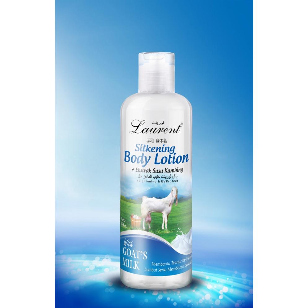 Laurent Silkening Body Lotion (Goats Milk) - 250ml | LAURENT