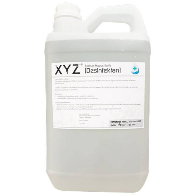 XYZ Desinfektan 5 Liter | XYZ