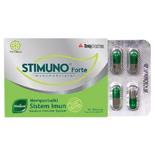 Stimuno Forte Kaplet - isi 10 kapsul | STIMUNO