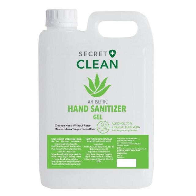 Secret Clean Hand Sanitizer Gel | SECRET CLEAN0