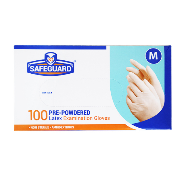 Safeguard Sarung Tangan Latex | SAFEGUARD