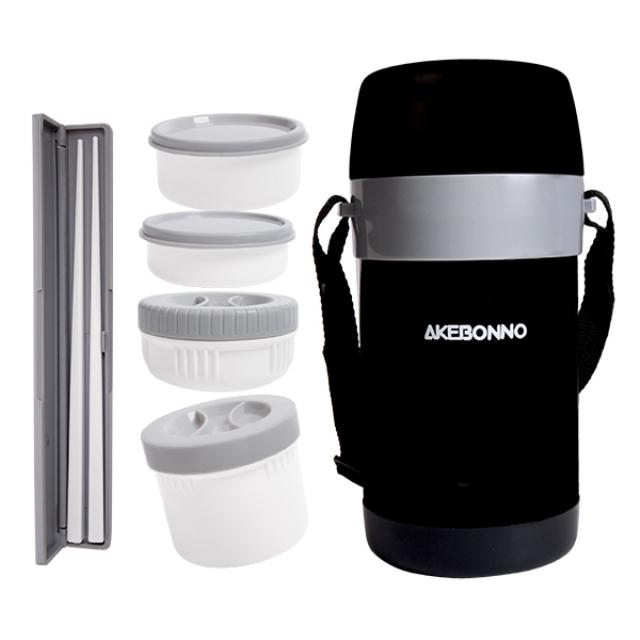 Vacuum Lunch Jar Kotal Bekal 1,8 liter | AKEBONNO