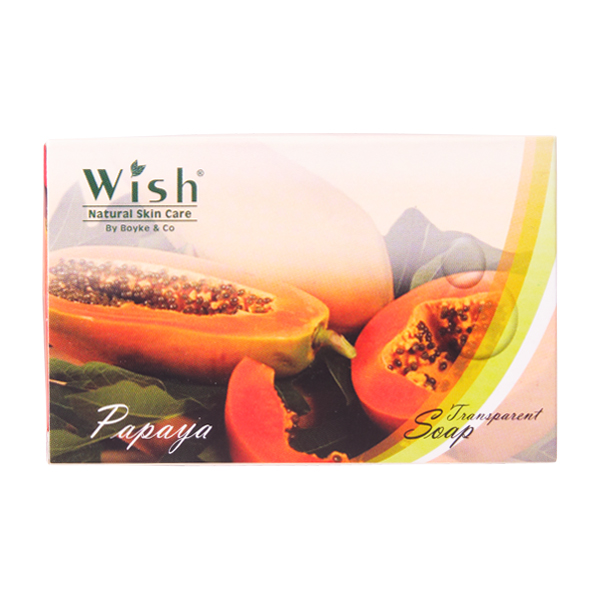 Transparent Soap Papaya / Sabun Pepaya | WISH