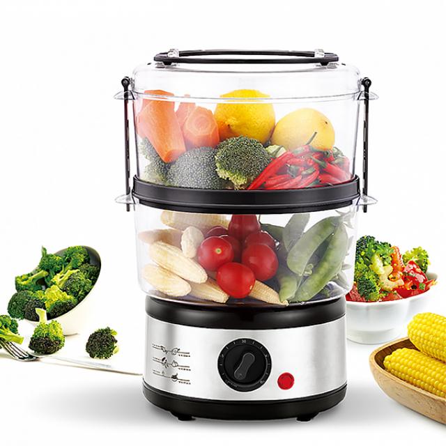 Food Steamer (IL-114) / Pengukus Makanan | IDEALIFE