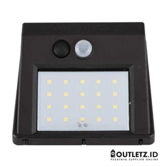 Solar Powered Led Wall Light Sensor + CDS Night Sensor / Lampu Taman | MONSTA LED