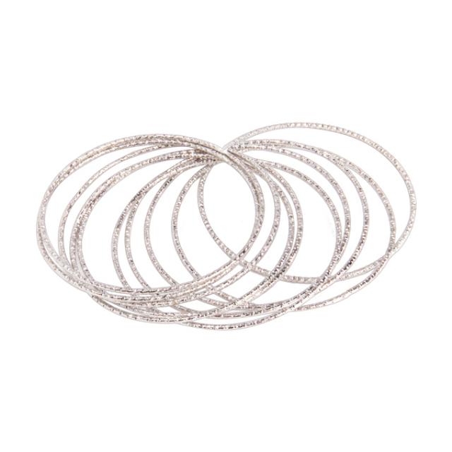 Gelang Fashion Silver 31 Lapis Emas Putih | IEKE
