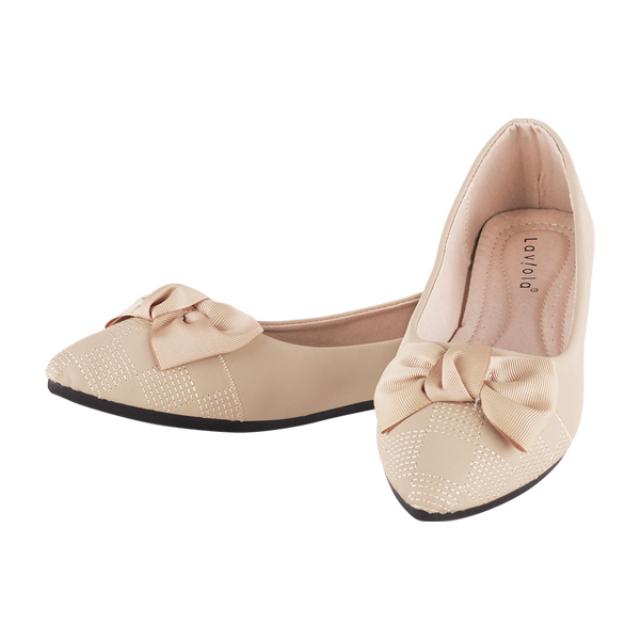 Sepatu Flat - Khaki / Flat Shoes | LAVIOLA