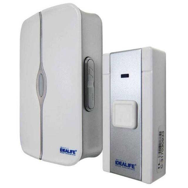 DC Wireless DoorBell 1 Remote (IL-301) / Bel Pintu Baterai 1 Remote   IDEALIFE