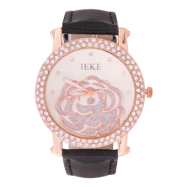 Jam Tangan Crystal Austria Hitam | IEKE
