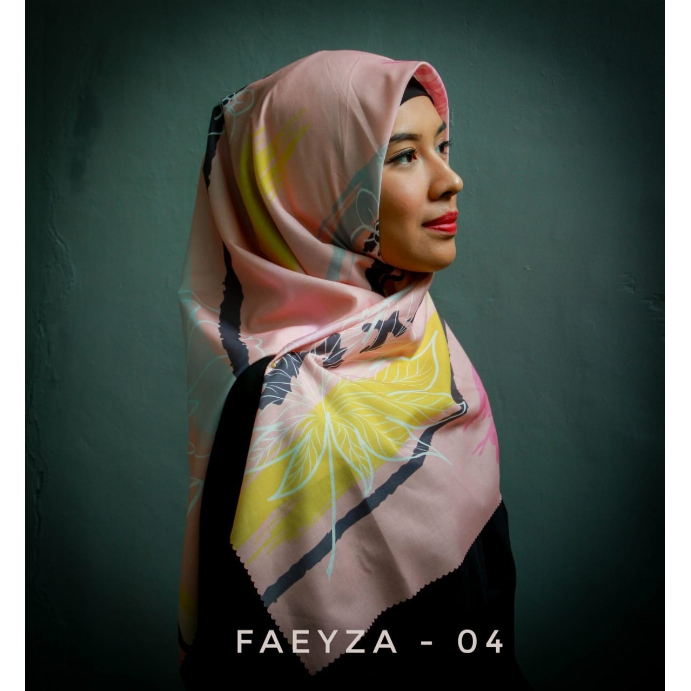 Hijab Segi Empat Faeyza-04 | MS. NAILA ZAARA