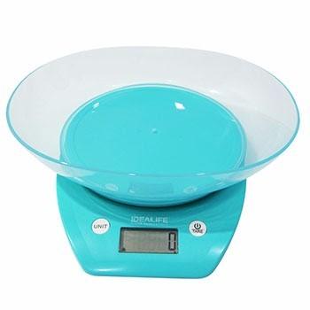 Digital Kitchen Scale + Bowl (IL-210) / Timbangan Kue Digital | IDEALIFE