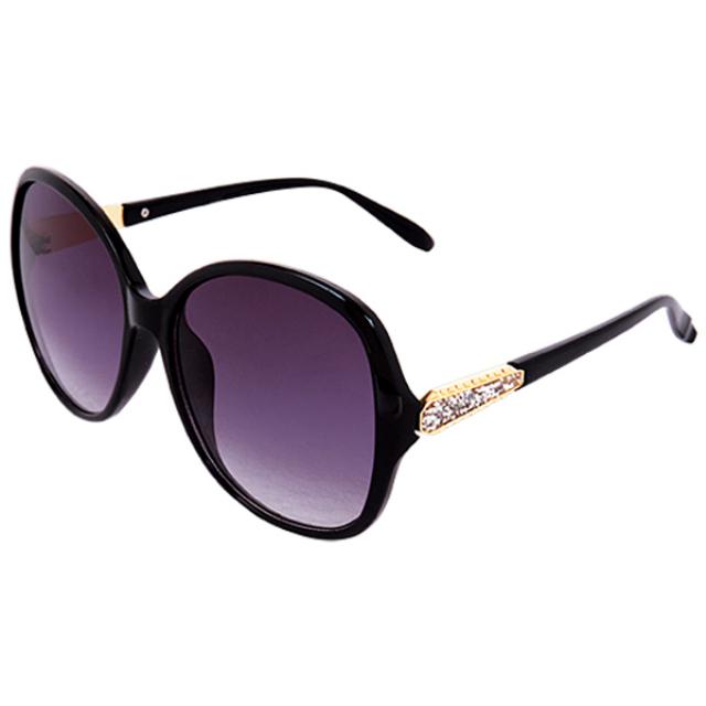 Kacamata Fashion WANITA Black Ovale | ALBARO