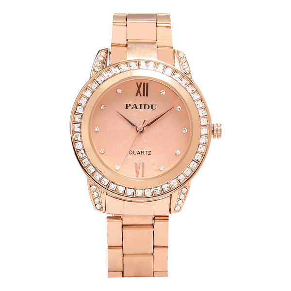 Jam Tangan Wanita Alloy Gold | G-POP