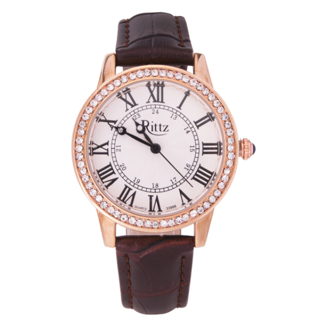 Jam Tangan Wanita Leather Brown / Jam Tangan Kulit | G-POP