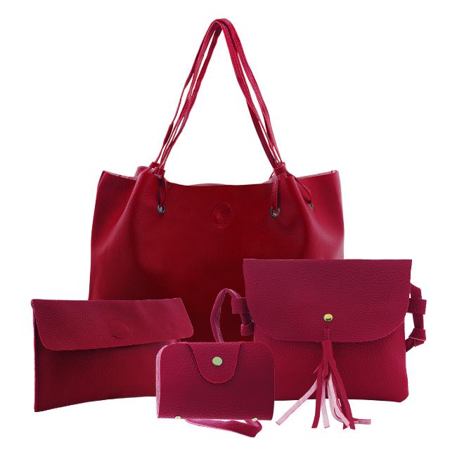 Tas Wanita / Tote Bag 4in1 / GRATIS Tas Selempang & Dompet | G-POP