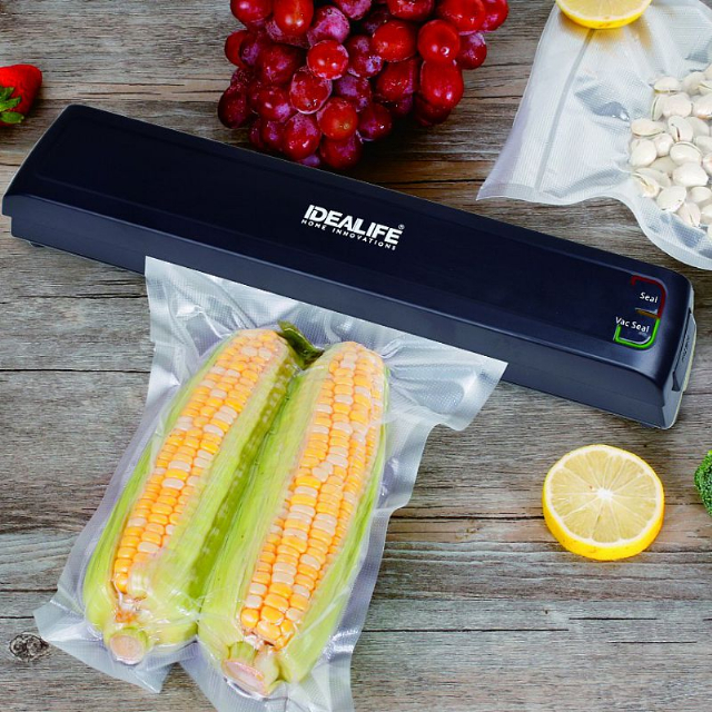 Food Vacuum Sealer (IL-600) / Pembungkus Vacuum | IDEALIFE