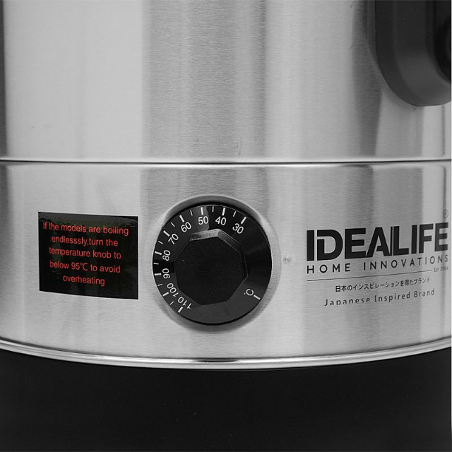 Water Boiler 8 Litre (IL-120A) / Pemanas Air Listrik   IDEALIFE2