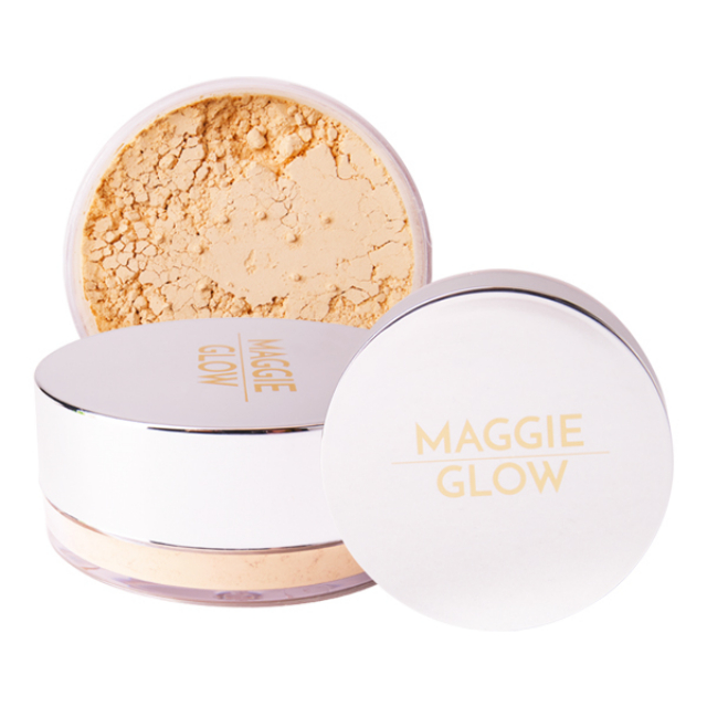 Maggie Glow Loose Powder For Acne Skin Champagne | MAGGIE GLOW