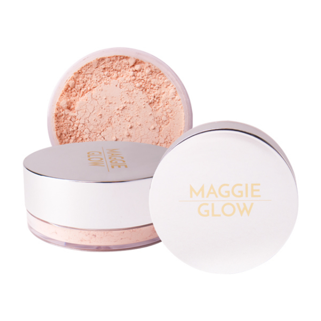 Maggie Glow Loose Powder For Acne Skin Beige | MAGGIE GLOW