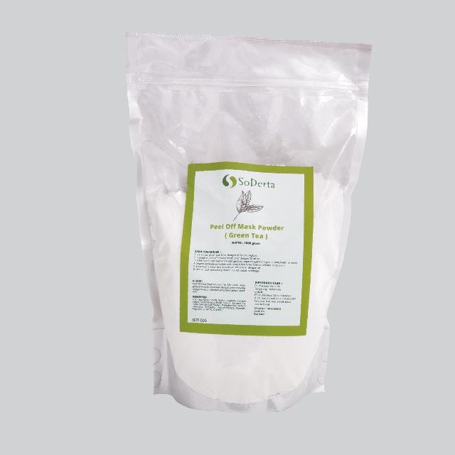 Masker Wajah Green Tea Peel Off Mask | SODERTA