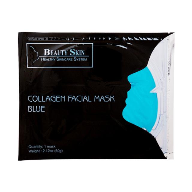 Beauty Skin Collagen Facial Blue Masker / Sheet Mask | BEAUTY SKIN