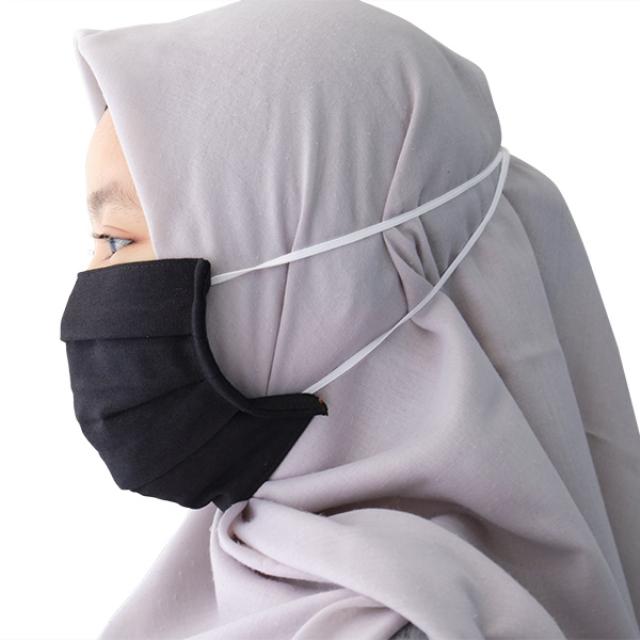 Masker Kain Hijab Anti Bakteri Headloop | AB MASKER4