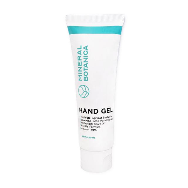 Mineral Botanica Hand Gel / Hand Sanitizer 60 Ml | MINERAL BOTANICA0