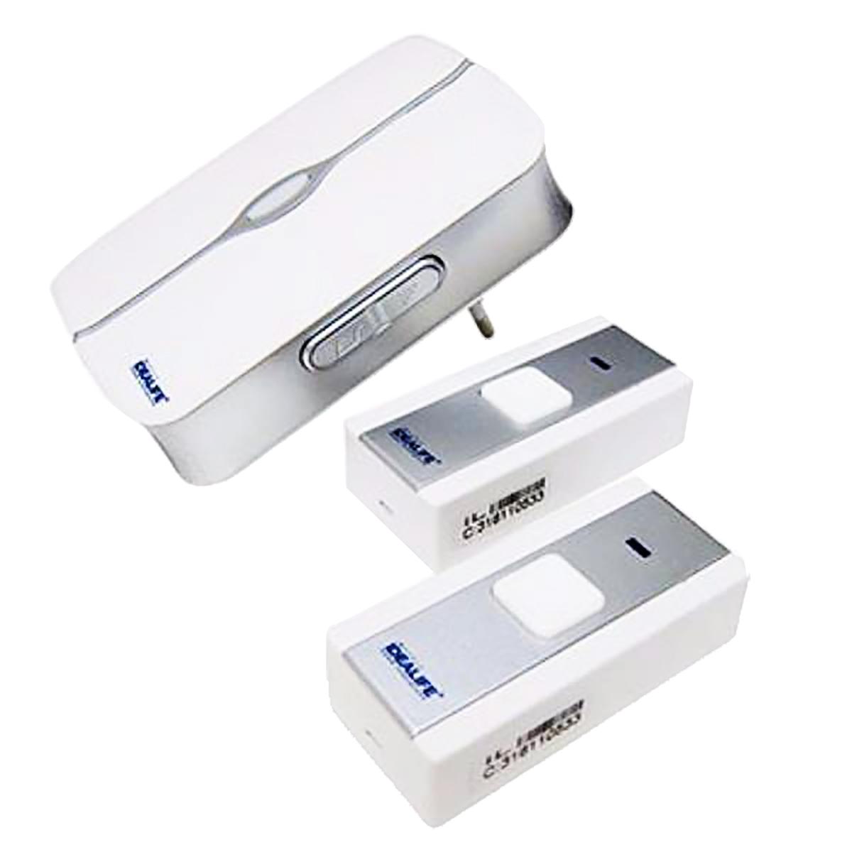 Wireless Doorbell 2 Remote (IL-292) / Bel Pintu Listrik 2 Remote   IDEALIFE