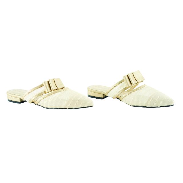 Sepatu Sandal Wanita Gold   CASTON