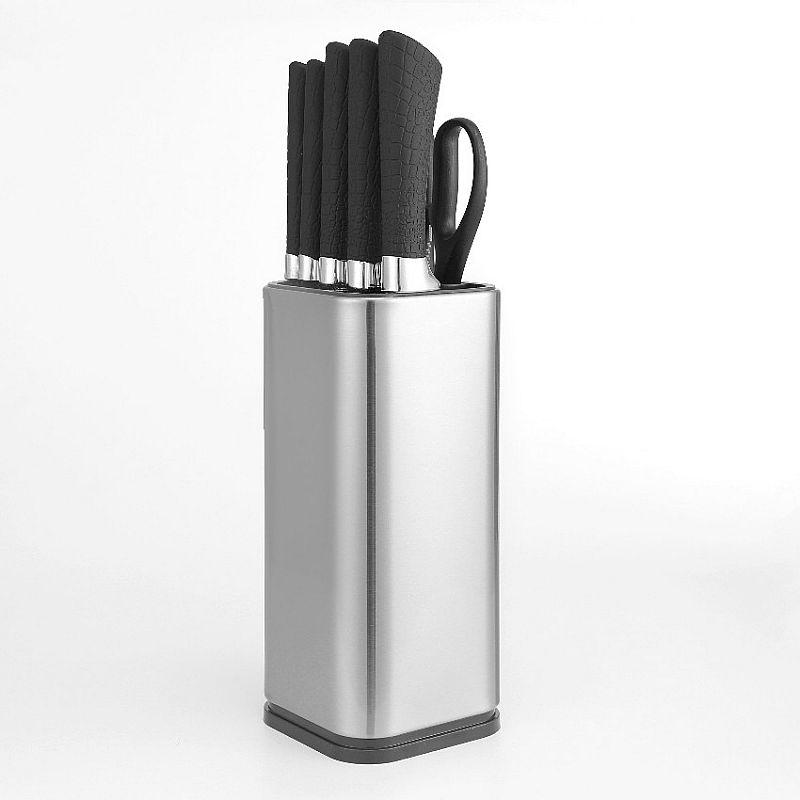 Knife Set With Scissors (IL-160SE) / Perlengkapan Pisau Dapur Dengan Gunting   IDEALIFE