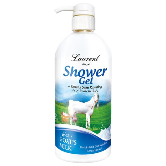 Laurent Shower Gel (Goat Milk) - 1000ml | LAURENT