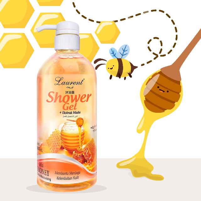 Laurent Shower Gel (Honey) - 1000ml | LAURENT0