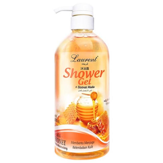Laurent Shower Gel (Honey) - 1000ml | LAURENT1