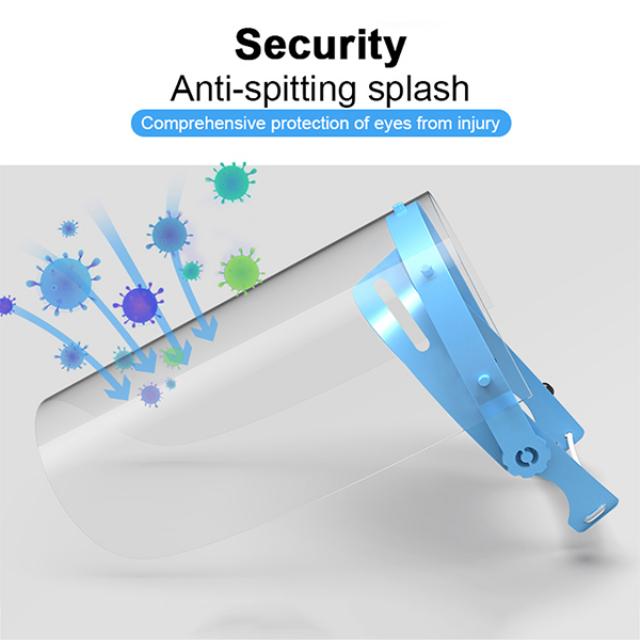 Face Shield / Alat Pelindung Wajah - 1 Set isi 10pcs | -1