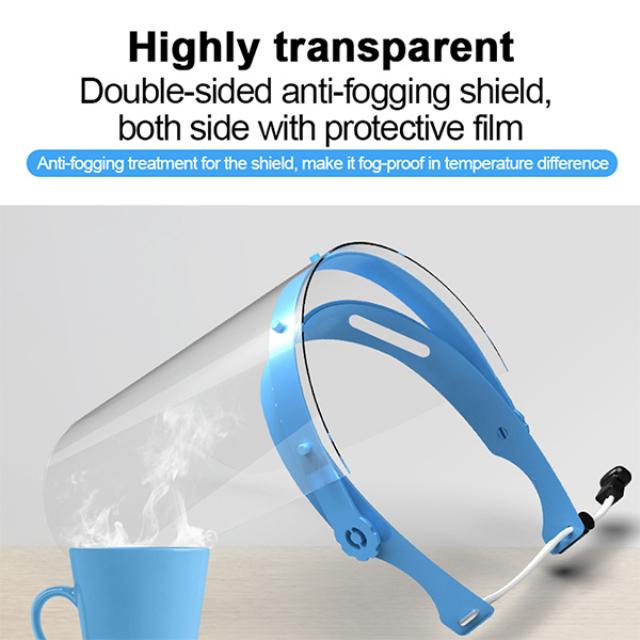 Face Shield / Alat Pelindung Wajah - 1 Set isi 10pcs | -2