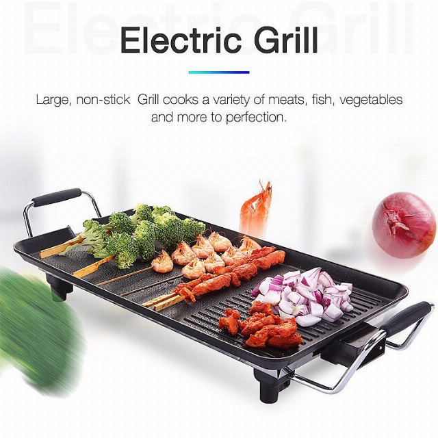 Electric Grill (IL-116S) / Grill Panggang Listrik | IDEALIFE