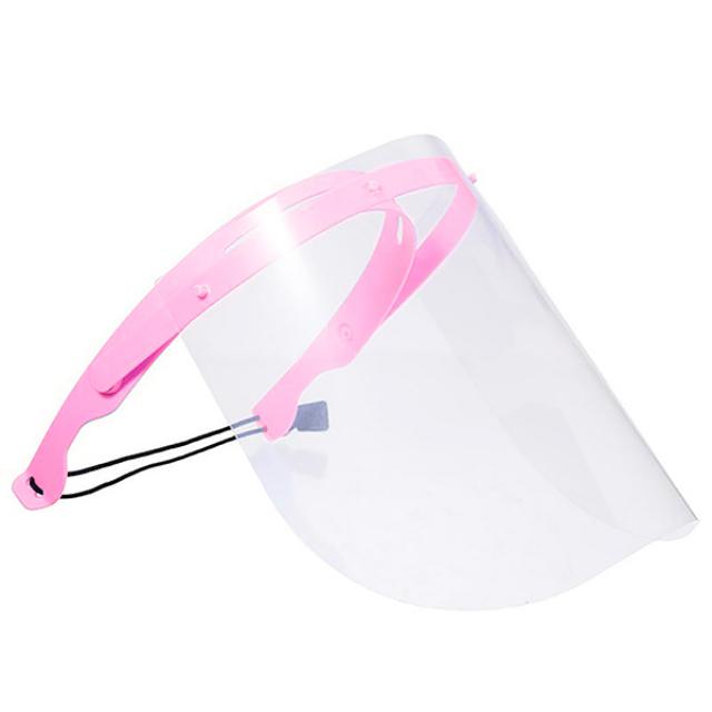 1 Set isi 10pcs / Face Shield Warna / Alat Pelindung Wajah   -3