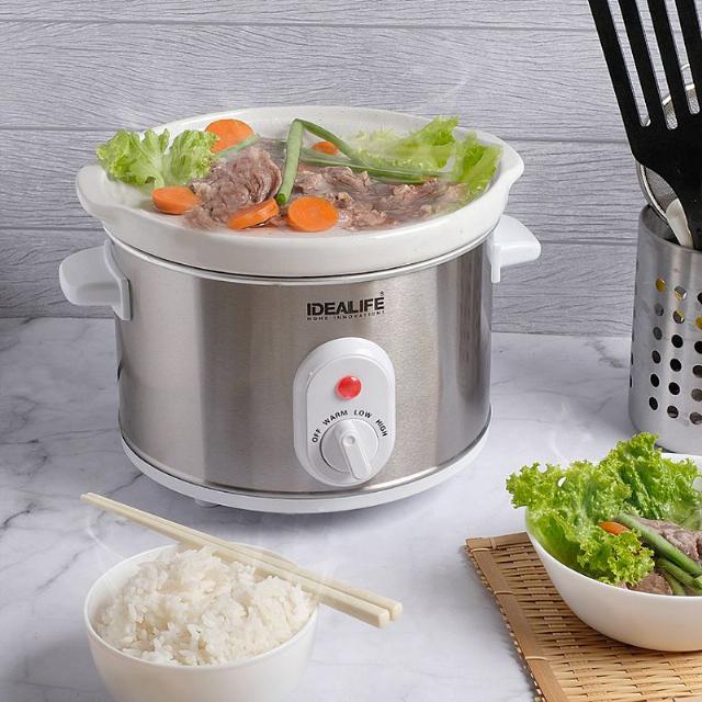Slow Cooker 2.5 Litre (IL-325) / Tungku Elektrik | IDEALIFE1