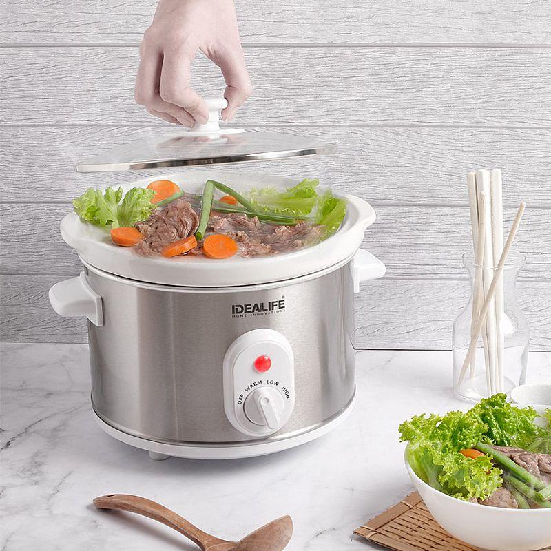 Slow Cooker 2.5 Litre (IL-325) / Tungku Elektrik | IDEALIFE2