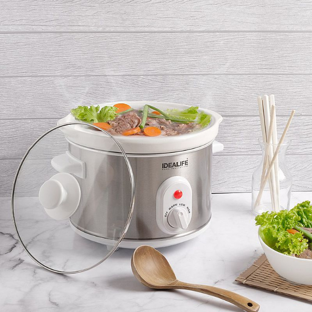 Slow Cooker 2.5 Litre (IL-325) / Tungku Elektrik | IDEALIFE3