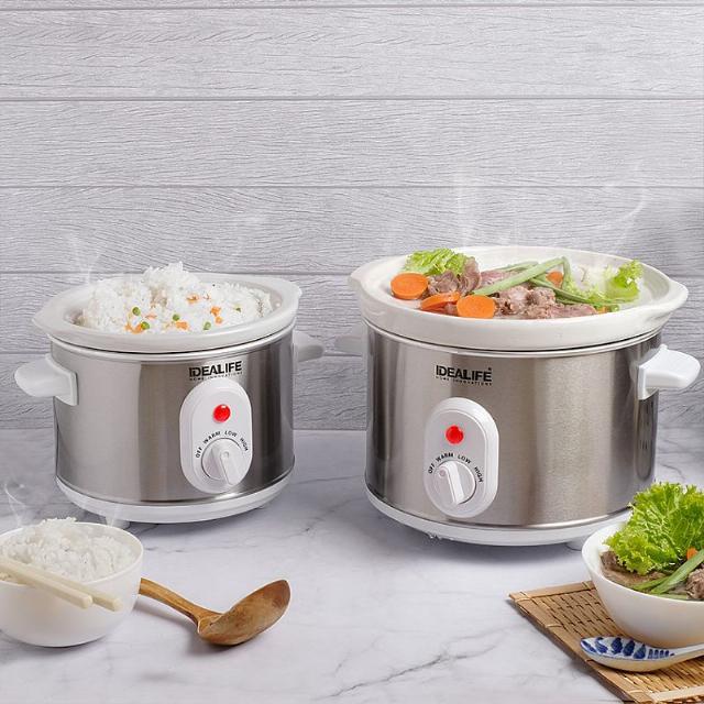 Slow Cooker 2.5 Litre (IL-325) / Tungku Elektrik | IDEALIFE4