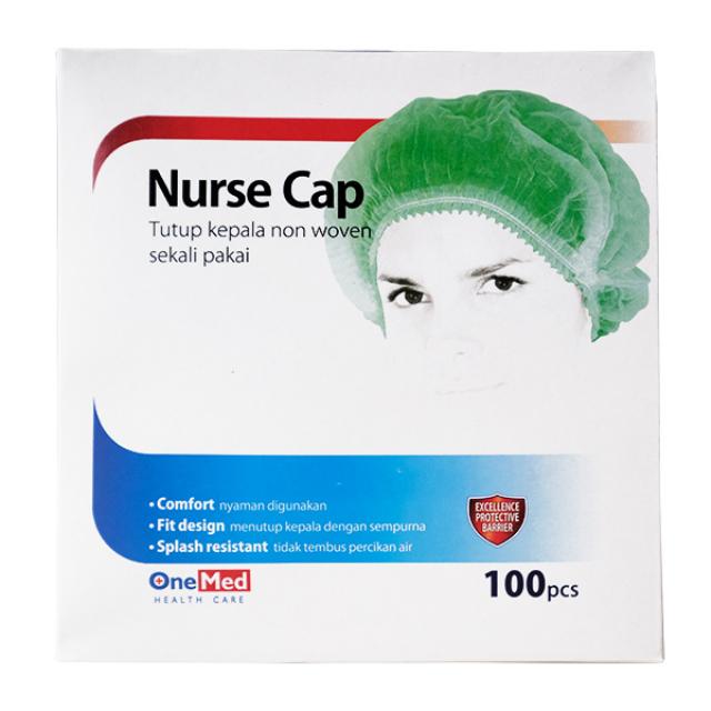 Nurse Cap / Tutup kepala non woven | ONE MED1