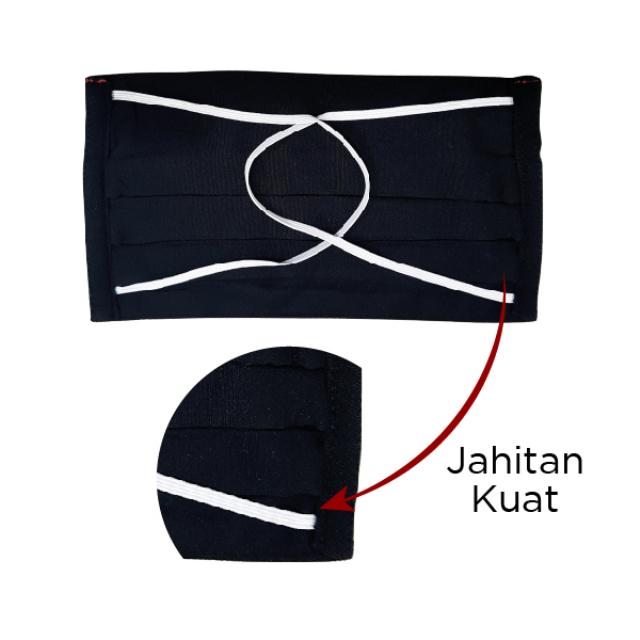 Masker Kain Hijab Anti Bakteri Headloop | AB MASKER2