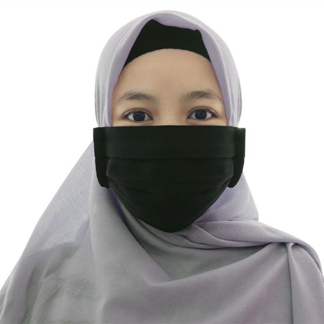 Masker Kain Hijab Anti Bakteri Headloop | AB MASKER3