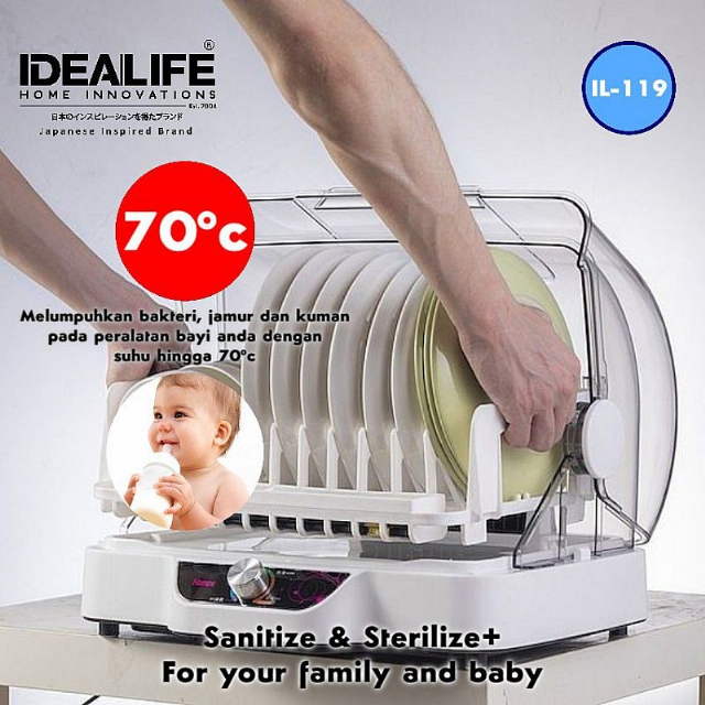 Sterilizer Dish Dryer (IL-119) / Pengering Piring | IDEALIFE3