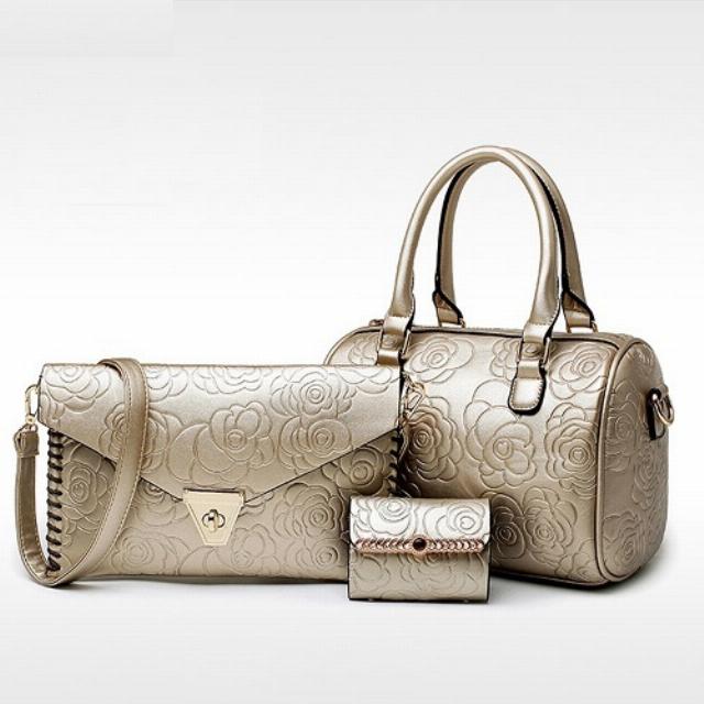 Set Handbag, Sling Bag dan Dompet Kartu / Beli 1 Dapat 3! | G-POP0